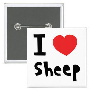 I love sheep buttons