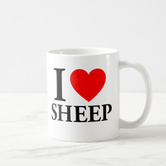 I Love Sheep Coffee Mug