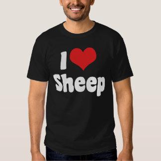 I Love Sheep Dark T-Shirt