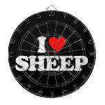 I LOVE SHEEP DART BOARD