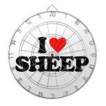 I LOVE SHEEP DART BOARDS
