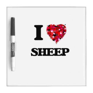 I love Sheep Dry-Erase Boards