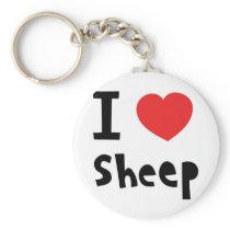 I love sheep keychain
