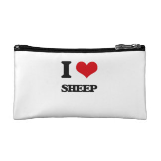 I Love Sheep Makeup Bag