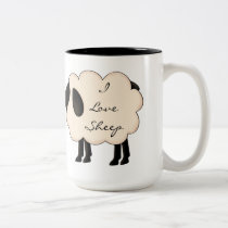I Love Sheep Mug