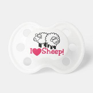 I Love Sheep Pacifier