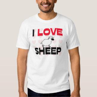 I Love Sheep Shirt