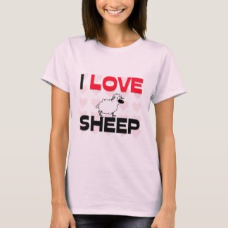 I Love Sheep T-Shirt
