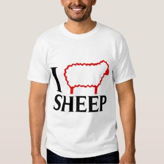 I Love Sheep T Shirt