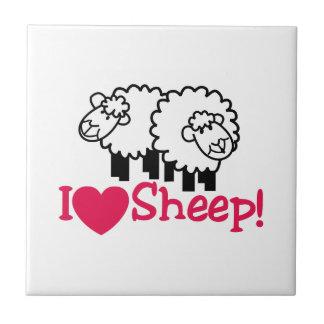 I Love Sheep Tile