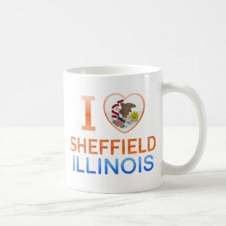 I Love Sheffield, IL Classic White Coffee Mug