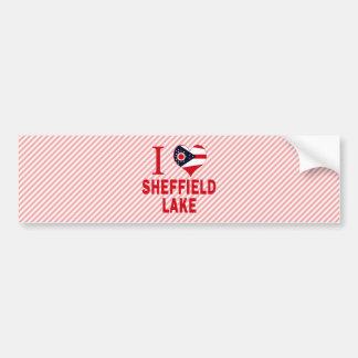 I love Sheffield Lake, Ohio Car Bumper Sticker