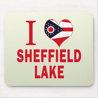 I love Sheffield Lake, Ohio Mouse Pad