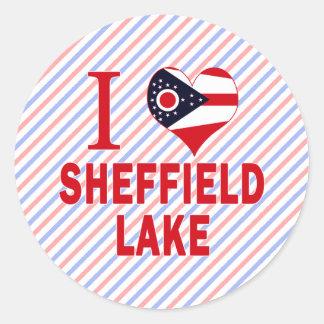 I love Sheffield Lake, Ohio Classic Round Sticker