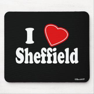 I Love Sheffield Mouse Pad