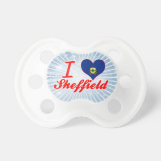I Love Sheffield, Vermont Pacifier