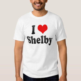 I Love Shelby, United States Shirt
