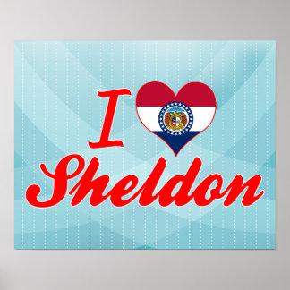 I Love Sheldon, Missouri Posters