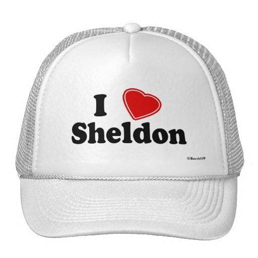 I Love Sheldon Trucker Hat