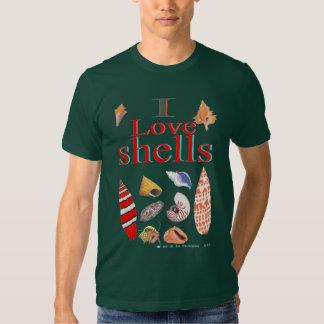 I Love Shells T-Shirt