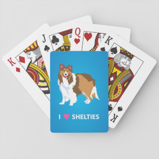 """I Love Shelties"" Deck of Playing Cards"