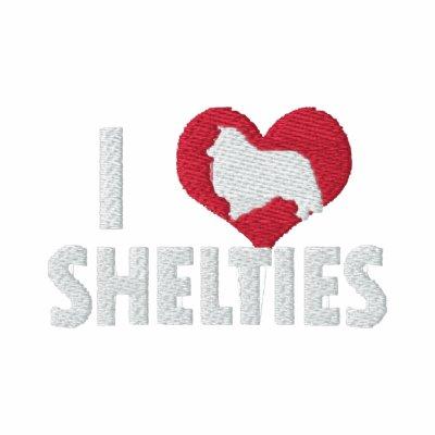 I Love Shelties Women's Polo