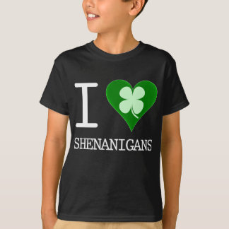i love shenanigans T-Shirt
