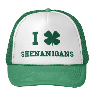 I Love Shenanigans Trucker Hat
