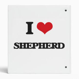 I Love Shepherd 3 Ring Binders