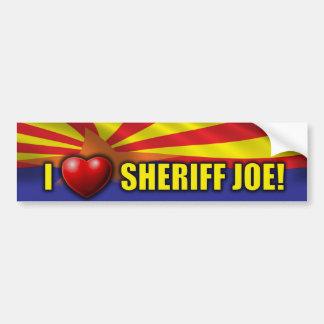 I Love Sheriff Joe - Support Arizona Bumper Sticker