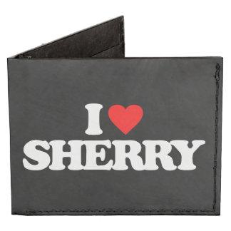 I LOVE SHERRY BILLFOLD WALLET