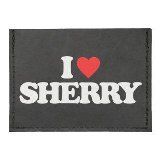 I LOVE SHERRY TYVEK® CARD CASE WALLET