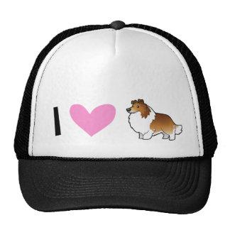 I Love Shetland Sheepdogs / Collies Trucker Hat