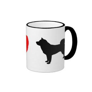 I Love Shiba Inus Coffee Mug