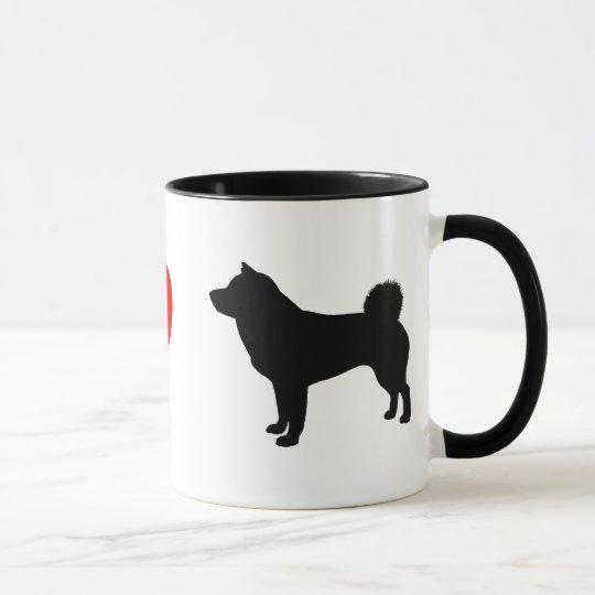 I Love Shiba Inus Mug