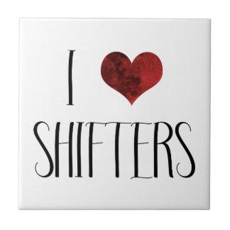 I Love Shifters – Paranormal Romance Ceramic Tile