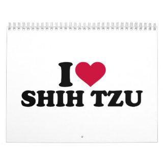 I love Shih Tzu Calendar