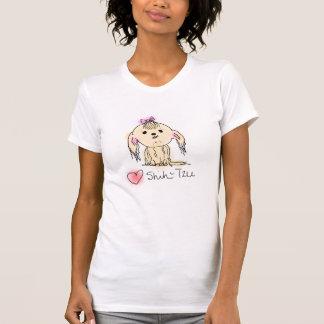 I Love Shih Tzu Hand Illustrated Doggie Doodle T-Shirt