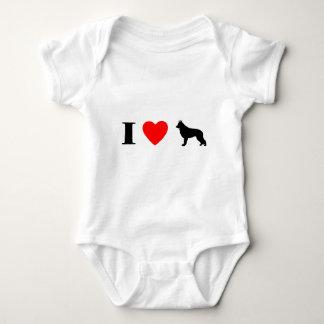 I Love Shiloh Shepherds Baby Creeper