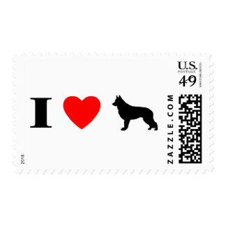 I Love Shiloh Shepherds Stamps