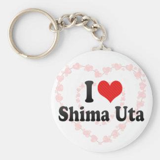 I Love Shima Uta Key Chains