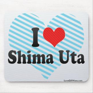 I Love Shima Uta Mouse Pad