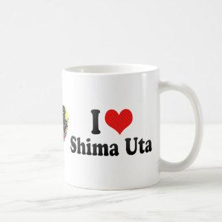 I Love Shima Uta Mugs