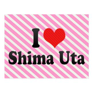 I Love Shima Uta Postcards