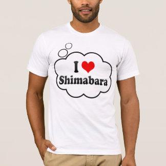 I Love Shimabara, Japan T-Shirt