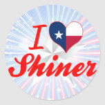 I Love Shiner, Texas Stickers