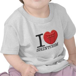 I Love Shintoism Shirts