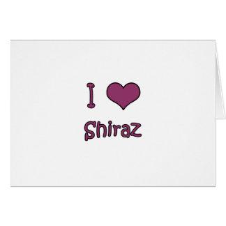I Love Shiraz Cards