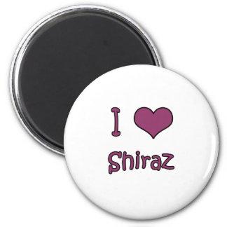 I Love Shiraz Magnet