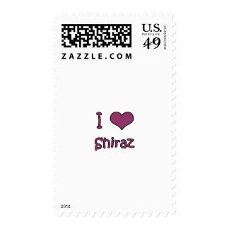 I Love Shiraz Postage Stamp